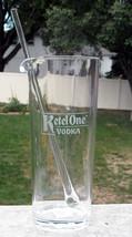 NEW Ketel One Vodka Tall Cocktail Plastic Pitcher & Stirrer Mixer 40 oz - $27.67