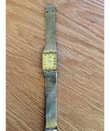 Vintage Longines Watch. 14K Plated Mesh Bracelet  - $123.75
