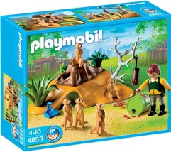 PLAYMOBIL 4853 MEERKAT FAMILY NEW SEALED - $139.32