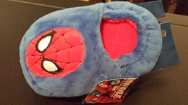 """MARVEL-SPIDERMAN-KIDS-SLIPPERS-SIZE-MEDIUM-6""""-SAFE-GRIPPED-SOLES ~NEW~ - $12.99"""
