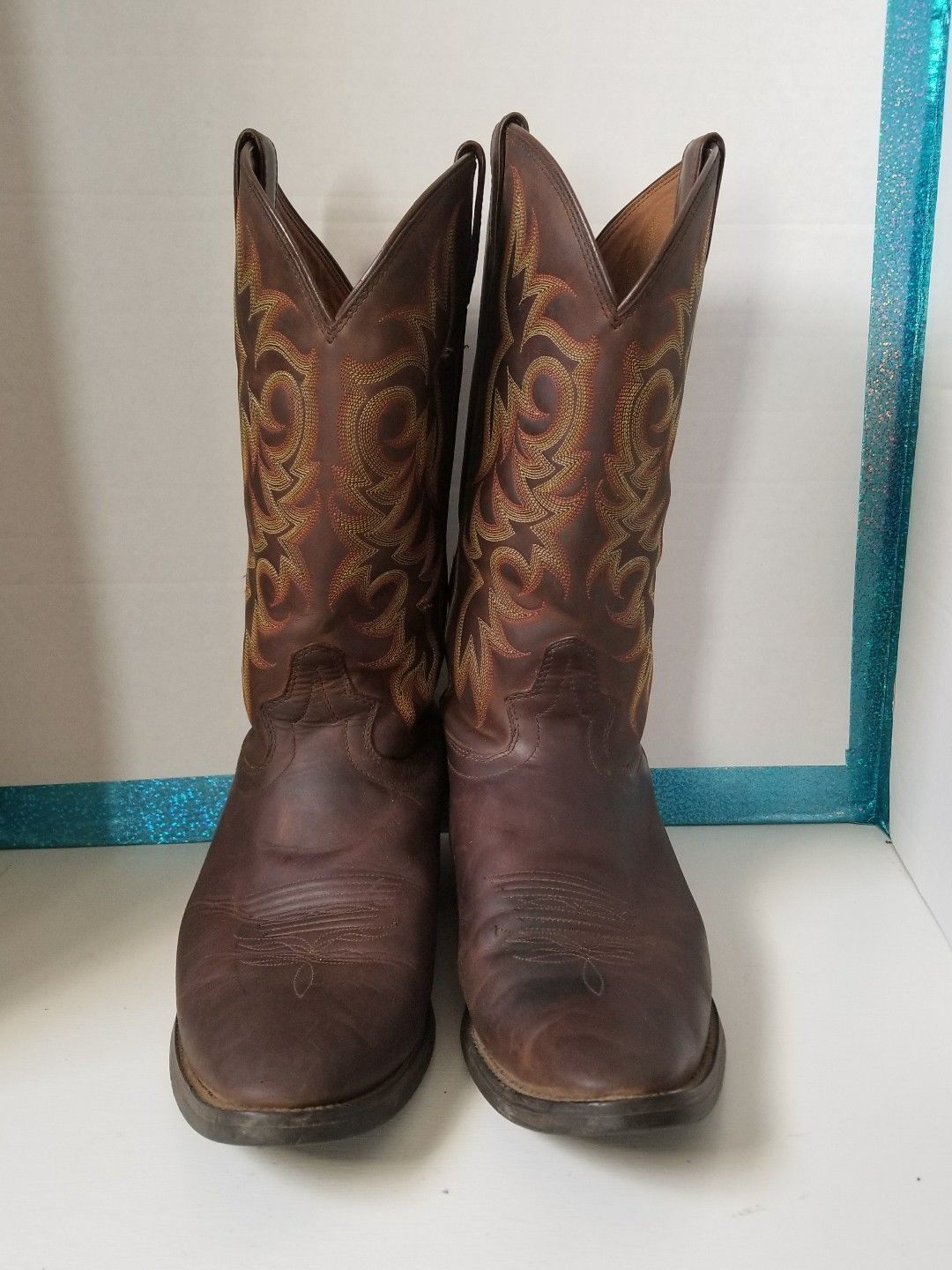 Justin Men's Sorrel Apache Brown Leather and 50 similar items