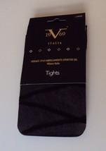 V1969  Abbigliamento sportivo srl Tights Black crisscross pattern Size L... - €8,41 EUR