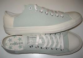 Converse Mens CTAS OX Jute Surplus Sage Dark Stucco Canvas Shoes Size 10 New - $54.44