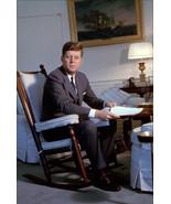 John F. Kennedy in Rocking Chair, an Archival Print - $719.95+