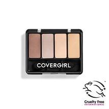COVERGIRL Eye Enhancers 4-Kit Eye Shadow, Sheerly Nudes (Packaging May V... - $7.88