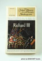 Richard III (Folger Library General Reader's Shakespeare) [Paperback] [Jan 01, 1