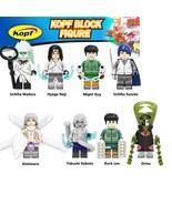 8pcs Naruto Series Uchiha Madara Sasuke Kimimaro Kabuto Zetsui Minifigur... - $16.99