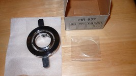Lot of 5 WAC Lighting HR-837-CH Chrome Recessed Trim Mini Round Adjustable - $38.99