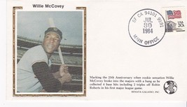 Willie Mc Covey 25th. Anniversary Event Cover - $1.78