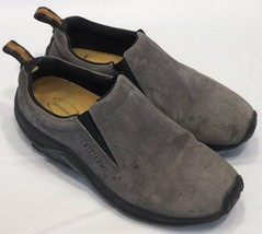Merrell Jungle Moc Nubuck Slip On Women's Size 8.5 Pewter Gray - $28.41