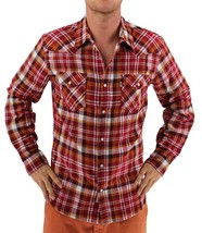 NEW LEVI'S MEN'S CLASSIC LONG SLEEVE BUTTON UP SHIRT PLAID RED 3LYLW0062C