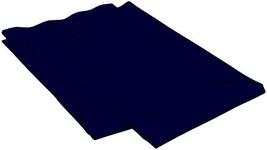 Crescent Bedding 1800 series soft and comfy Microfiber 2 Pack Navy Blue Standard