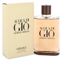 Giorgio Armani Acqua Di Gio Absolu 6.7 Oz Eau De Parfum Cologne Spray image 5