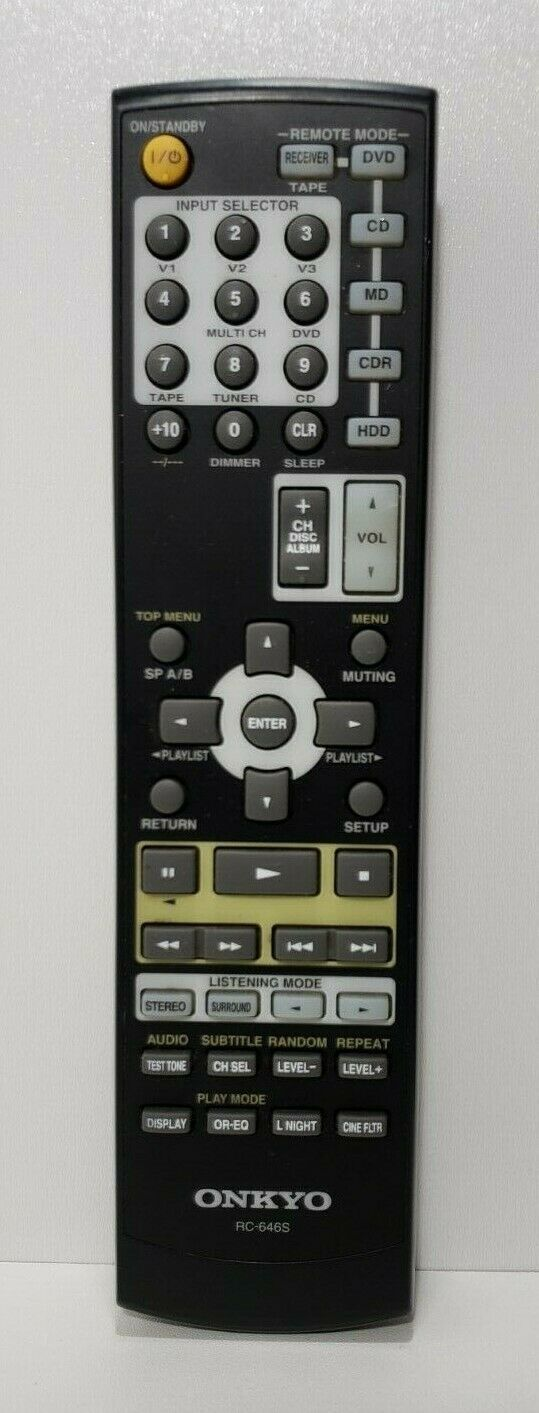 ONKYO AV Receiver HT-R340 With Remote bundle Tested/Working image 10