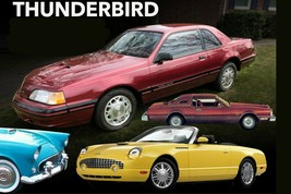 Ford Thunderbird, 24 x 36 Inch Poster,  - $21.77
