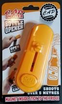 Flying Cap Shooter Beer/Bottle Cap Launcher Bottle Opener - $4.99