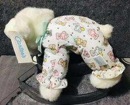 Carter's Prestige Teddy Bear Rattle Plush Print Pajama Toy Animal - $118.80
