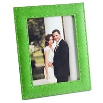 Vibrant Green Ecoleatherette Handcrafted Eco Friendly Sleek Regular Phot... - $22.43