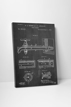 Beer Tap Patent Print Gallery Wrapped Canvas Print. Bonus Wall Decal! - $44.50+