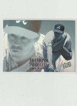 Greg Maddux 1995 Fleer Diamond Producers # 5 - $1.04