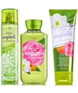 Bath & Body Works Sweet Magnolia Clementine 3-piece Set Mist, Shower Gel... - $31.82