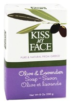 Kiss My Face - Bar Soap Olive & Lavender - 8 oz. - $6.19