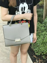 NWT Furla Women's Julia Top Handle Satchel Bag MULTI COLOR Pearl ASH/ GRAY - $239.99