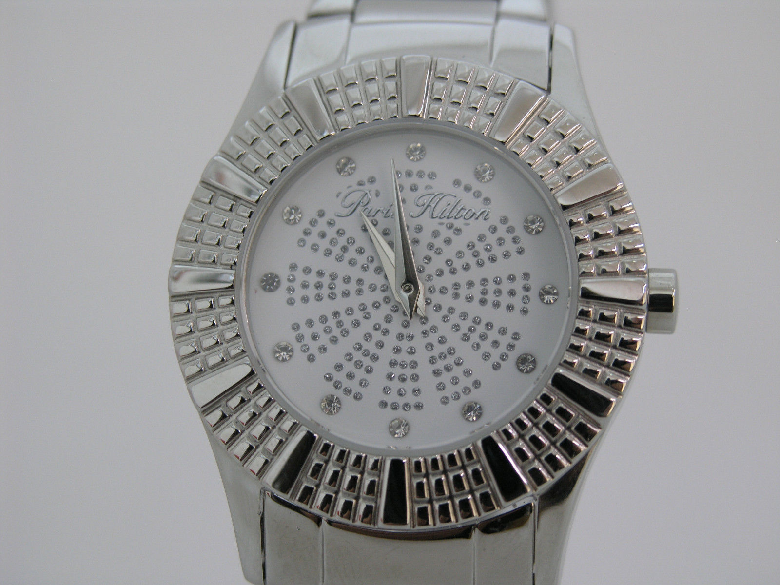 Primary image for Paris Hilton woman watch white dial stainless steel 13103MS/01M