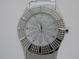 Paris Hilton woman watch white dial stainless steel 13103MS/01M - $66.33