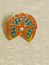 US Military 16th Air Traffice Control BN Insignia Pin - Voice to the Skies - $10.00