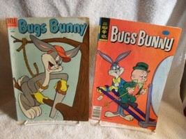 BUGS BUNNY Dell Comics 1955 AND 1979 LOONEY TUNES - $32.99