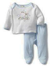 Absorba Baby Boys Friends Two Piece Footed Pant Set   - $25.00