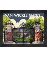 "Brown University ""Van Wickle Gates"" 13x16 Art Deco Framed Print  - $39.95"