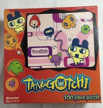 Tamagotchi 100 Piece Puzzle Pressman 2007 Factory Sealed Family Fun Night - $10.78
