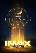 "Eternals Movie Poster Chloé Zhao Marvel Film Art Print 24x36"" 27x40"" 32x... - $10.90+"