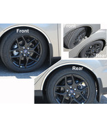 15-18 FORD FOCUS 4dr QAA Stainless 4pcs Wheel Well Accent WQ55345 - $89.09