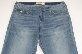 "GAP 1969 Real Straight Studded Jeans Size 32 R (Length 29"") - $13.37"