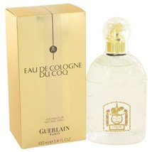 Du Coq by Guerlain Men's Eau De Cologne Spray 3.4 oz - 100% Authentic - $59.20