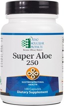 Ortho Molecular - Super Aloe 250 - 100 Capsules image 1