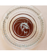 """Vintage MGM Grand Hotel Las Vegas 'Lion'  4-1/2"""" x 1"""" tall clear Glass A... - $9.95"""