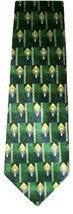 "Club Room Men's Beautiful Silk Neck Tie Green Blue Gold 59"" - $7.91"