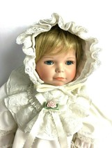 Towle Doll Porcelain Head Hands Feet Christening Outfit Baby Vintage #89... - $98.99