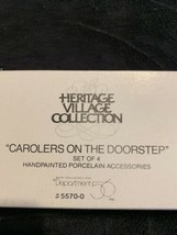 Carolers On The Doorstep Heritage Village Collection Department 56 - New In Box - $10.18