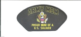 PROUD ARMY MOM OF A U.S. SOLDIER EMBROIDERED PATCH - $15.33
