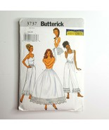 Butterick  3737 Making History Pattern Misses Slip Petticoat Pants Bustl... - $9.89