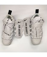 Nike Women's Sz 7 Air More Money Phantom Summit White Snakeskin AO1749-001 - $124.39