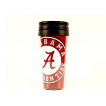 NCAA Alabama Coffee Mug 14oz Travel Tumbler Acrylic w/ No Spill Lid Crim... - $9.36