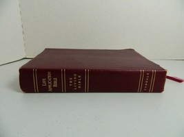 Life Application Bible The Living Bible Burgundy Bonded Leather - $24.50