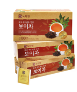 Nokchawon Puer Tea 0.9g x 100T x 3 Korea Food - $57.23