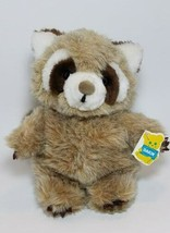Vintage Dakin Bean Bags Rusty Raccoon 1982 #28-0207 w/Tags Plush Stuffed Animal - $15.79